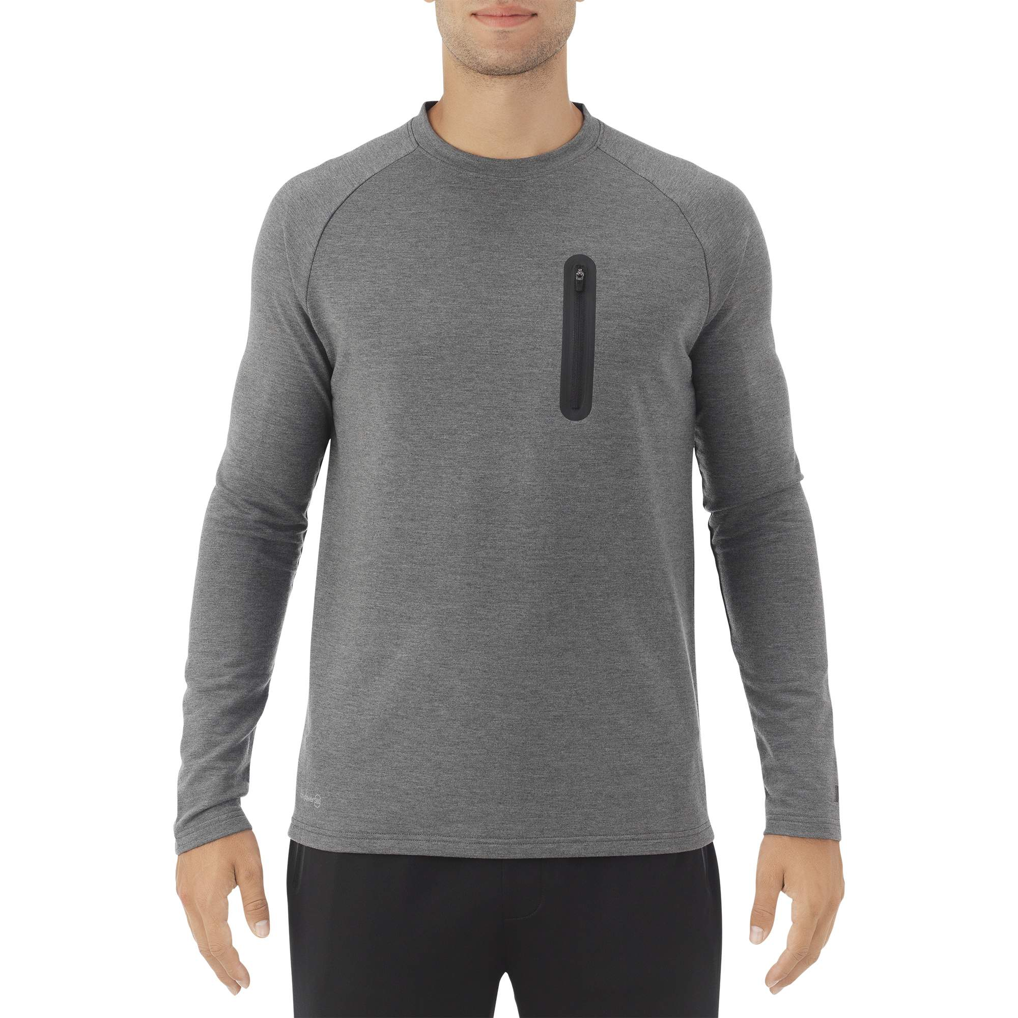 Russell Big Men's Long Sleeve Crew Top