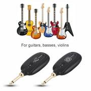 Tbest M7 Guitar Wireless Transmitter & Receiver System Audio Transmission Set, Guitar Wireless Receiver, Guitar Wireless Transmitter Receiver