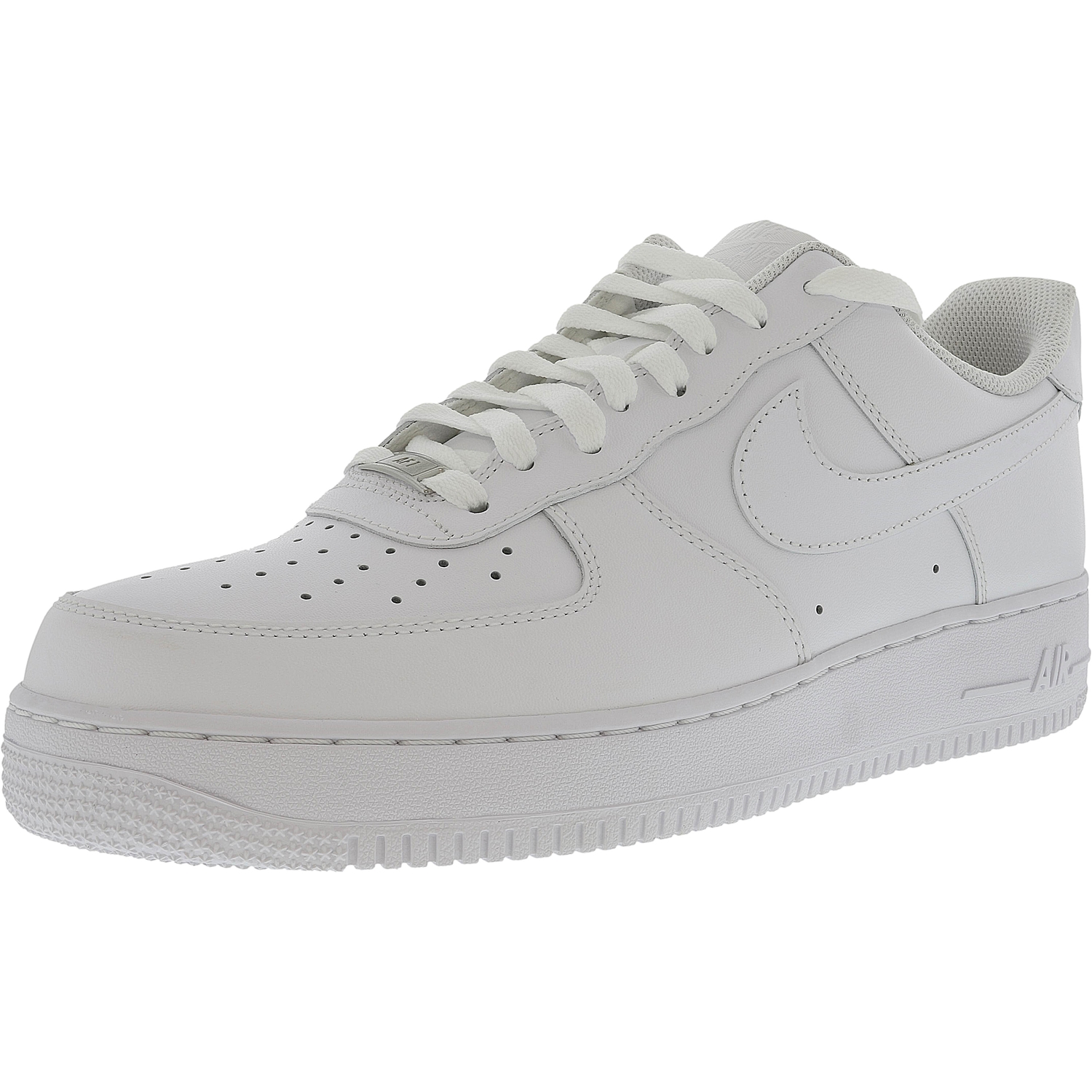 Nike Men's Air Force 1 07 White / Ankle-High Leather Fash...