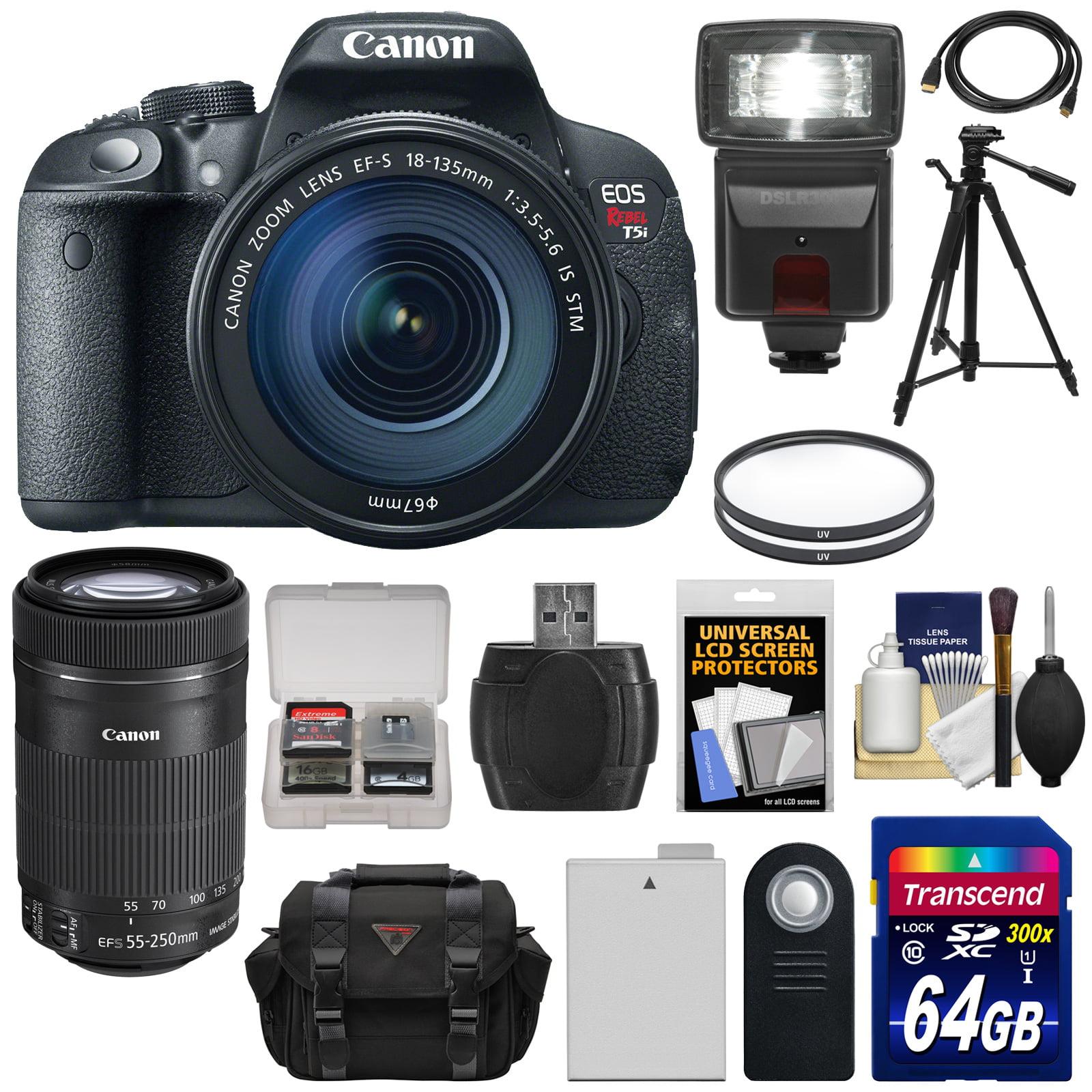 Canon EOS Rebel T5i Digital SLR Camera & EF-S 18-135mm & ...