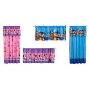 Mickey & Minnie Mouse Kids' Curtains and Valances