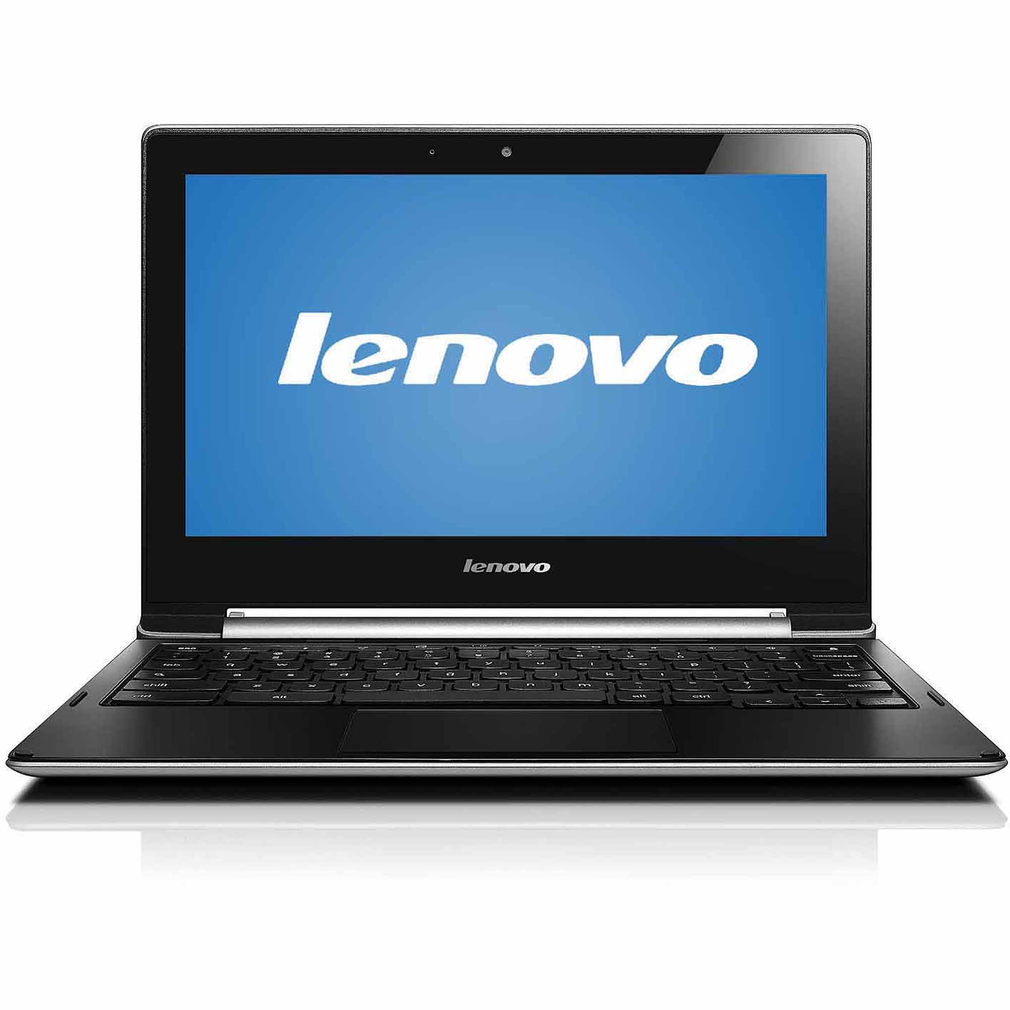 "Lenovo Silver 11.6"" IdeaPad N20p Chromebook PC with Intel Celeron N2830 Dual-Core Processor, 2GB Memory, touch screen, 16GB Solid State Drive and Chrome OS"
