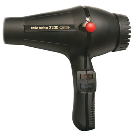 Chevy Twin Turbo Kits - Twin Turbo LIGHTWEIGHT 1900 Watt Italian Hair Dryer with Multi Temperature/Speeds Control, True Cold Shot Button and Extra Long Power Cord
