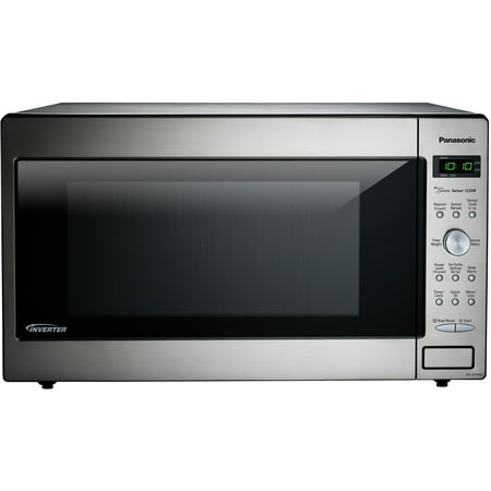 Panasonic Genius Sensor 2.2 Cu. Ft. 1250W Microwave Oven with Inverter Technology
