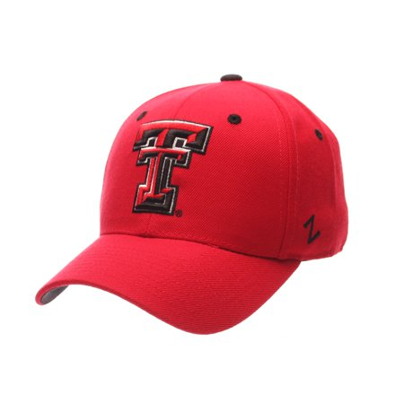 quality design b217e f46e5 Texas Tech Red Raiders DH Fitted Hat (Red) - Walmart.com
