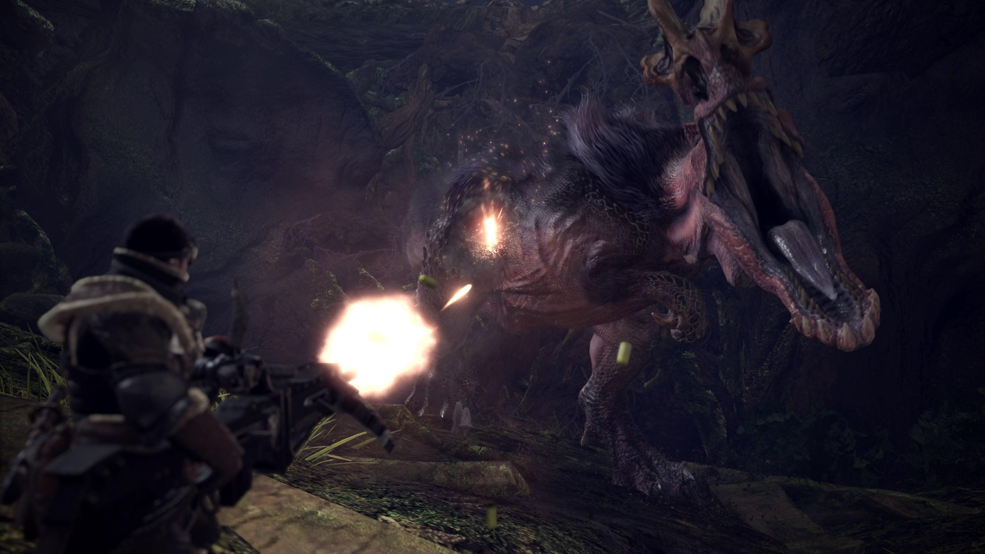 Capcom Monster Hunter World, Sony, PlayStation 4, 013388560424 - Walmart.com