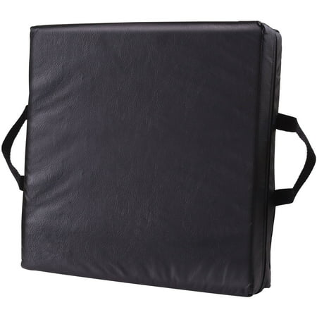 DMI Deluxe Seat Lift Seat Riser Car Cushion Pillow with Black Cover