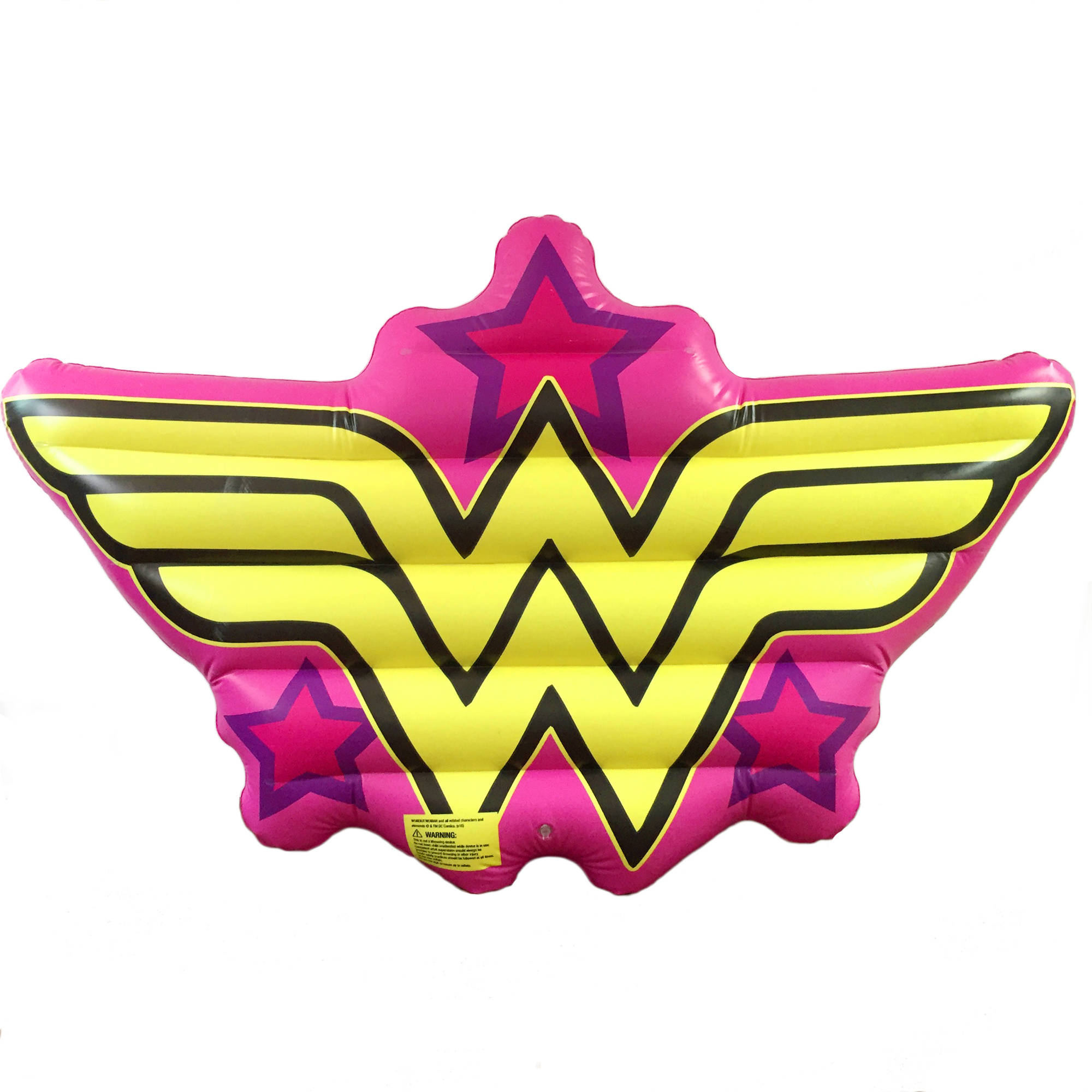 License 2 Play Pool Float Wonder Woman Logo, 48 x 74 x 6 Inches by License 2 Play