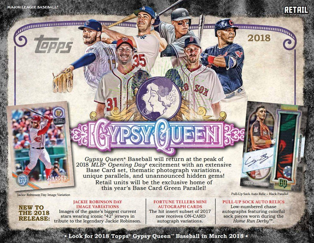 2018 Topps Gypsy Queen Baseball Retail Blaster Box by Topps