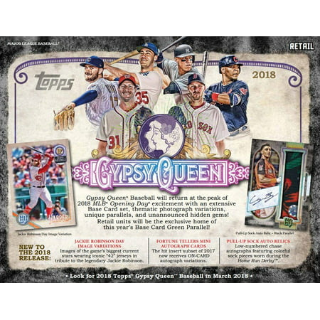 - 2018 Topps Gypsy Queen Baseball Retail Blaster Box