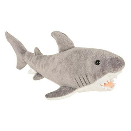 Adventure Planet Plush Animal Den - GREAT WHITE SHARK (14 inch) ()
