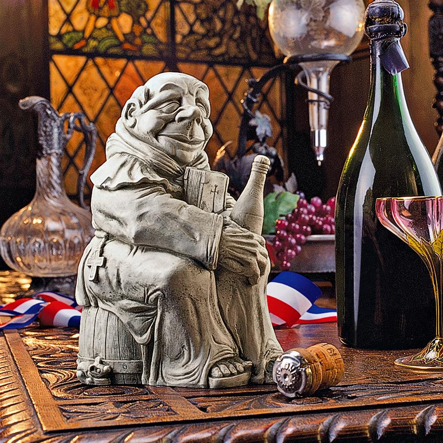 Dom the Monk, Inventor of the Champagne Statue