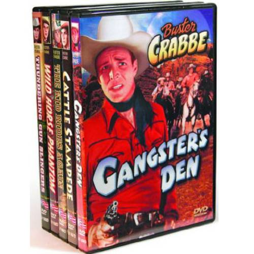Buster Crabbe Western Feature Films by ALPHA VIDEO DISTRIBUTORS