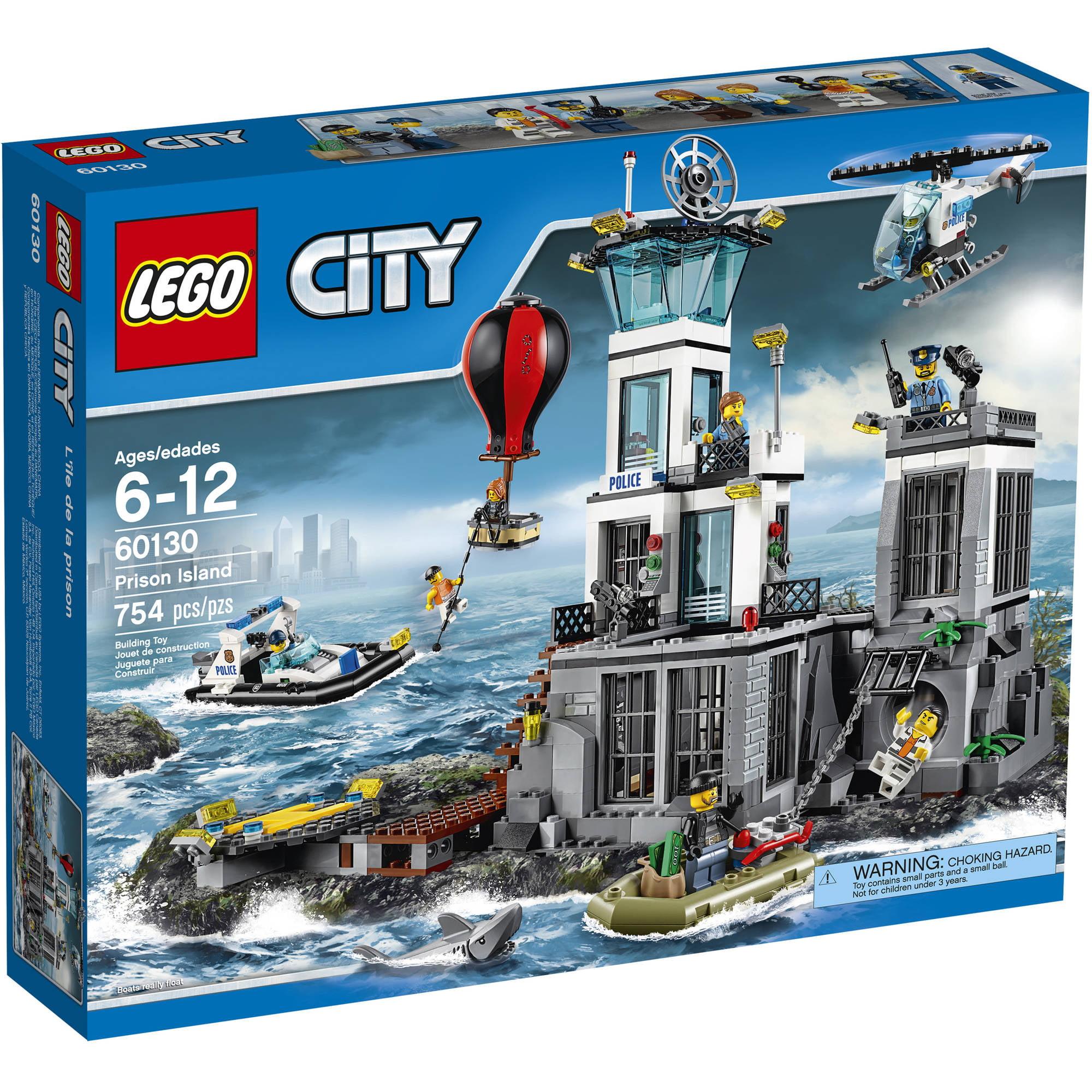 lego city police prison island 60130 walmartcom