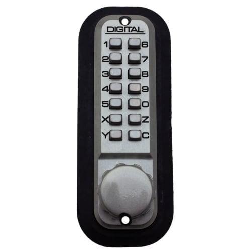 Lockey 2210DC 2000 Series Keyless Entry Double Combination Mechanical Deadbolt with Interior Thumb Turn