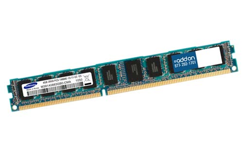 AddOn - Memory Upgrades 8GB DDR3 SDRAM Memory Module - 8 GB (1 x 8 GB) - DDR3 SDRAM - 1333 MHz DDR3-1333/PC3-10600 - ECC - Registered - 240-pin DIMM