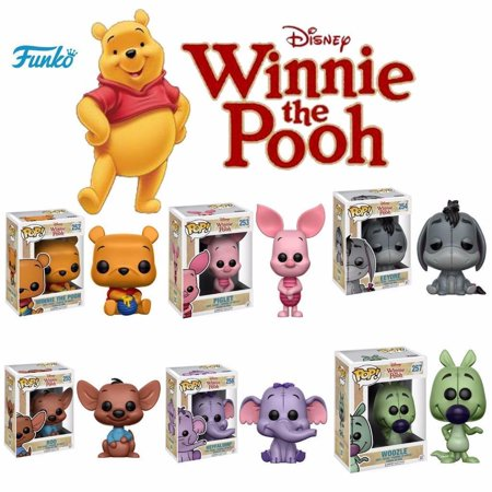 Funko Pop! Disney Winnie the Pooh: Piglet, Eeyore, Roo, Heffalump, Woozle & Pooh