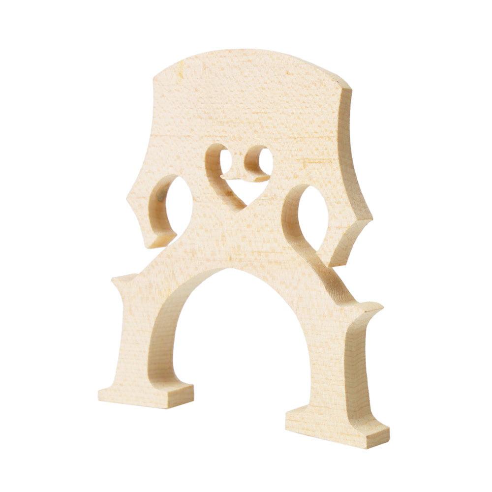 Ktaxon High quality Cello Bridge 1 2 Size Maple Wood by
