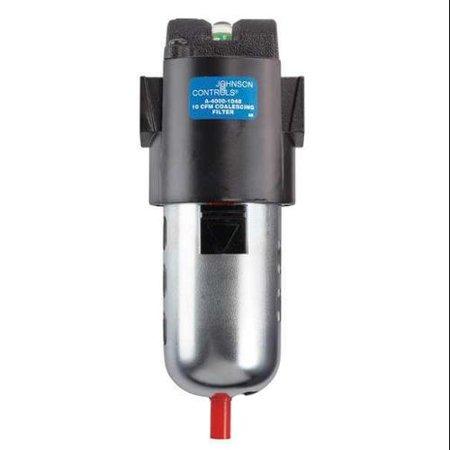 Light Pneumatic Tool Oil - JOHNSON CONTROLS Pneumatic Oil Filter,3/8 In. NPT,50 cfm, A-4000-6001