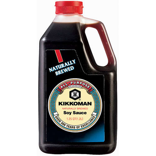 Kikkoman Naturally Brewed Soy Sauce, 1.25 qt