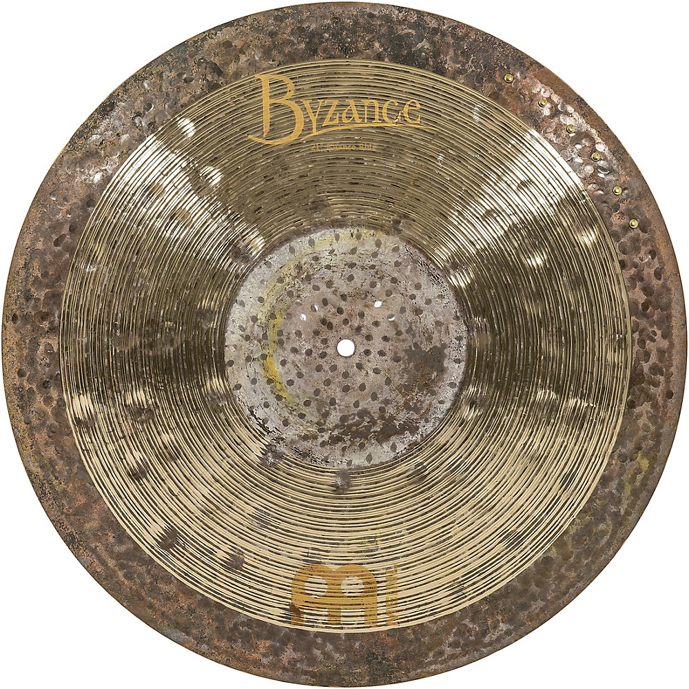 Meinl Byzance Jazz Ralph Peterson Signature Nuance Ride Cymbal with Rivets 21 in. by Meinl