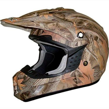 AFX FX-17 Graphic MX Offroad Helmet (Afx Helmet Chin Vent)