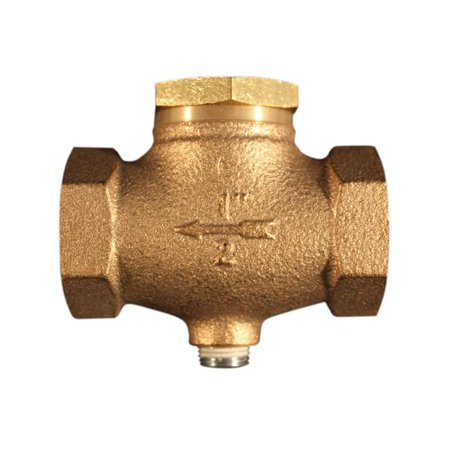 0 5 in Female National Pipe Threads in Line Check Valve