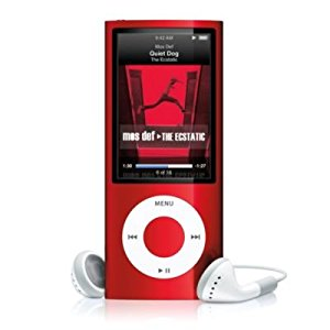 Apple iPod Nano 5th Genertion 16GB Red (PRODUCT)-Like New Condition (MC074LL/A)
