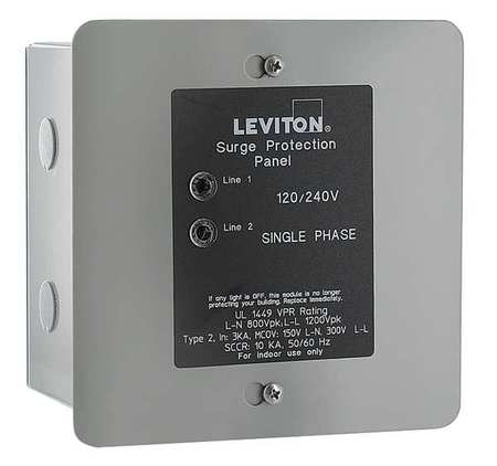 "7.00"" Surge Protection Device, Leviton, 51120-001"