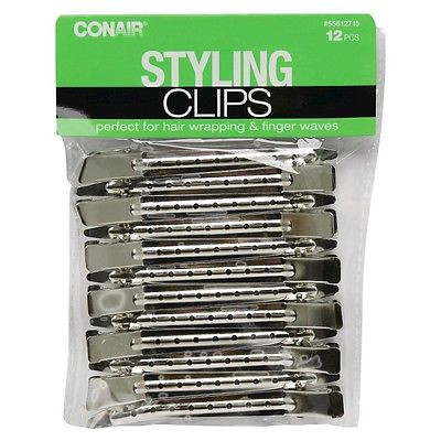 Conair Snug Fit Clips/Barrettes - 12 Count
