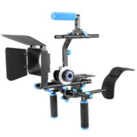 Professional DSLR Rig Set Movie Kit Film Making System for All DSLR Cameras