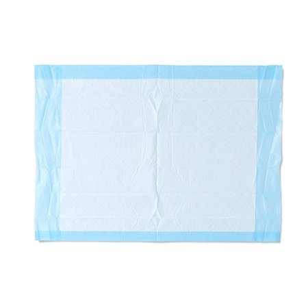 """Industries, Inc. MSC281224C Ultra Lightweight Tissue and Plastic 17"""" x 24"""" Disposable Underpad, Great For Changing Table and Surfaces, 300 Per Case, Blue Medline - Ultra Lightweight (Medline Industries Cart)"""