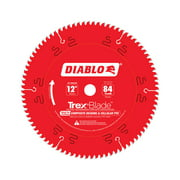 Diablo TrexBlade 12 in. Dia. x 1 in. Carbide Saw Blade 84 teeth 1 pk