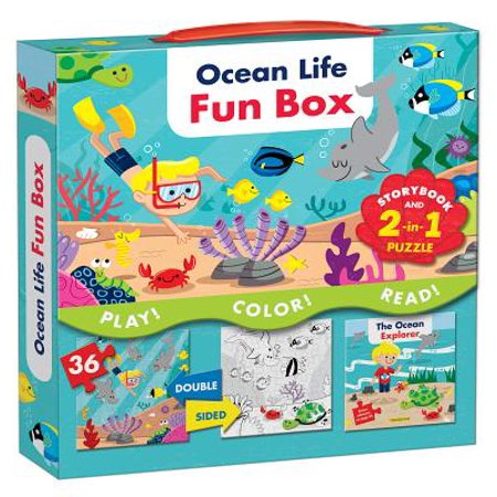 Ocean Life Fun Box: Includes a Storybook and a 2-In-1 Puzzle (Other)