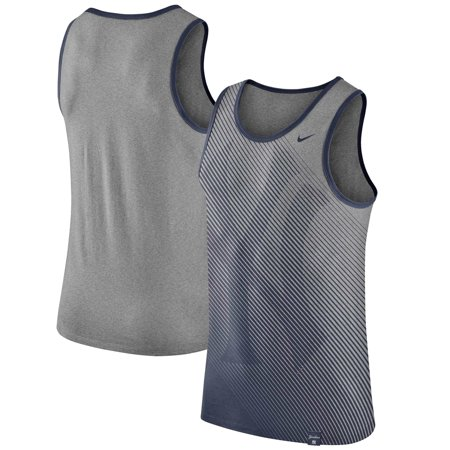 New York Yankees Nike 1.7 Tri-Blend Tank Top - Heathered Gray