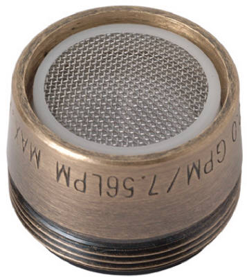 Faucet Aerator, Dual Thread, Antique Brass, Brass Craft, SF0052X