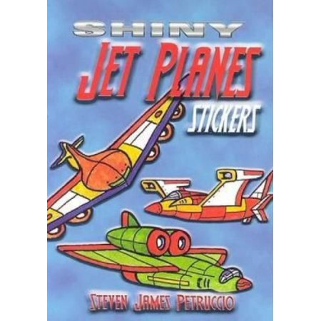 Shiny Jet Planes Stickers