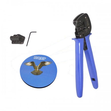 HQRP MC4 Solar Connectors Crimping Tool for Solar Panel; PV / Photovoltaic System + HQRP Coaster