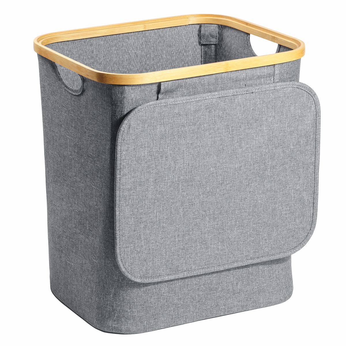 Details about  /Foldable Laundry Hamper Wall Hanging Dirty Clothes Storage Basket Organizer Case
