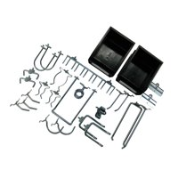 26 pc Hook & Bin Assortment for DuraBoard or 1/8 In. and 1/4 In. Pegboard