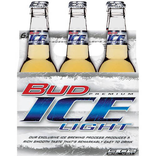 Beautiful Bud Ice Light Beer, 6pk Good Looking