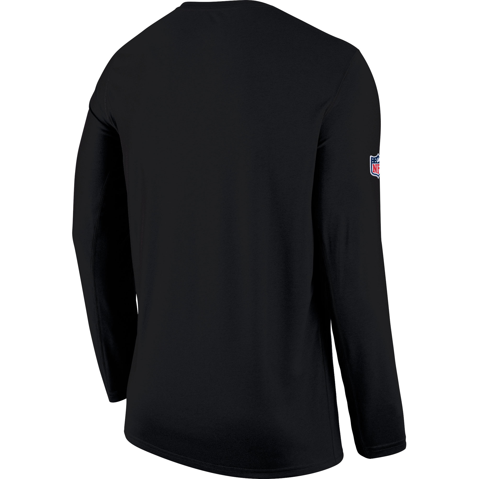 c91a412a8 Carolina Panthers Nike Sideline Seismic Legend Long Sleeve T-Shirt - Black