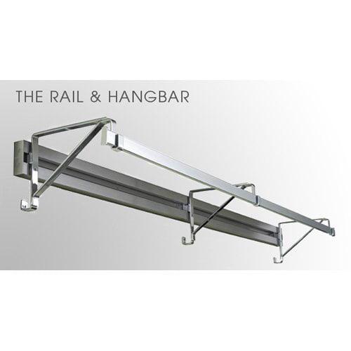 Orginnovations Arrange A Space Rail/Brackets/Hangbar Combination