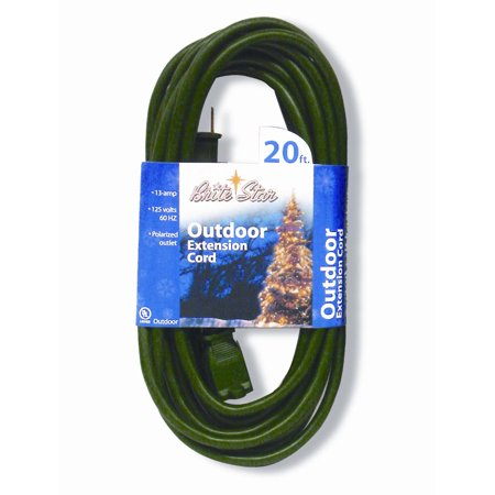 20 Brite Star Indoor Outdoor Polarized 9 Outlet 3 Prong Extension Cord