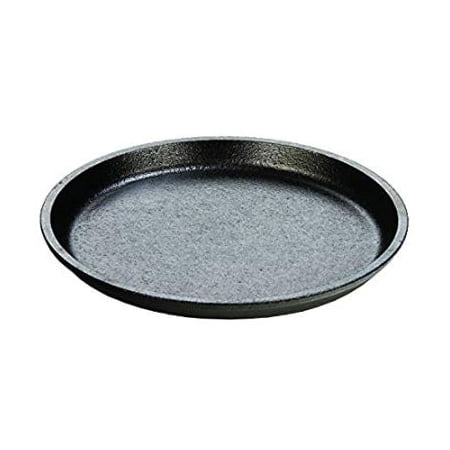 "Seasoned Cast Iron Round Griddle (Lodge Logic 7"" Round Serving Griddle Seasoned Cast Iron,)"