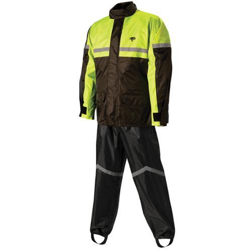 Nelson-Rigg SR-6000 Stormrider 2-Piece Rain Suit Hi-Viz Yellow/Black