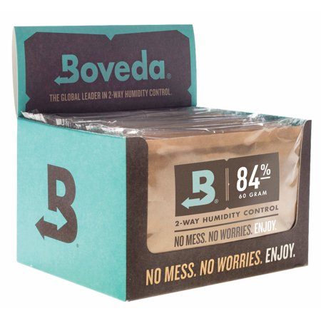 Boveda 84% RH 2-Way Humidity Control, Large 60 gram, Retail 12-pack Cube