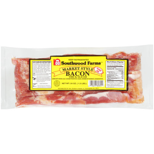 Southwood Farms Thick Sliced Bacon, 24 oz