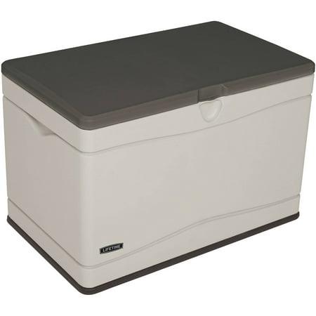 Lifetime 80 Gallon Heavy-Duty Deck Box, Desert Sand