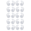 Tiehnom 20 Piece (10 Pair) Earpod Hooks Attachment for Apple iPhone EarPods 7 / 6 / 6S / 6 Plus/ 5S/ 5C/ 5 Earphones Headphones Earbuds (White) PERFECT FIT: Comfortably grip your ear and conforming to the groove of your inner ear.IN PACKAGE: You will get 10 pairs (20 pieces) in a zip-bag for easy storageCOMFORTABLE: Engineered with Ultra Soft Elastomers, provides a better listening experience without compromising on comfort.SWEAT & WATERPROOF: Great for running, jogging, skating, snowboarding, video conferences, cycling, fitness, gym and more!Brand: Designed for the Tiehnom brand only for great quality